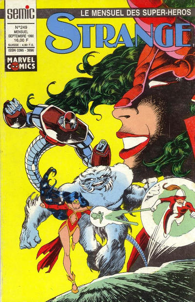 Cover for Strange (Semic S.A., 1989 series) #249