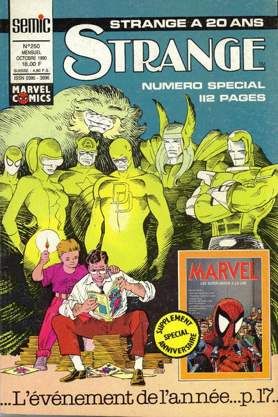 Cover for Strange (Semic S.A., 1989 series) #250