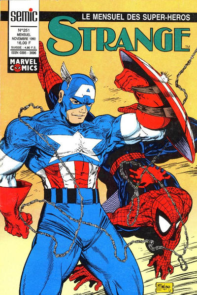 Cover for Strange (Semic S.A., 1989 series) #251