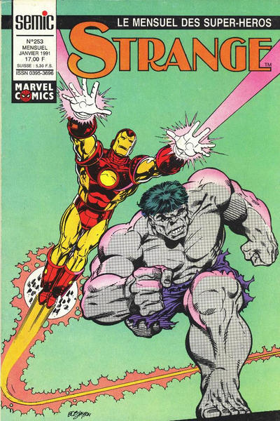 Cover for Strange (Semic S.A., 1989 series) #253