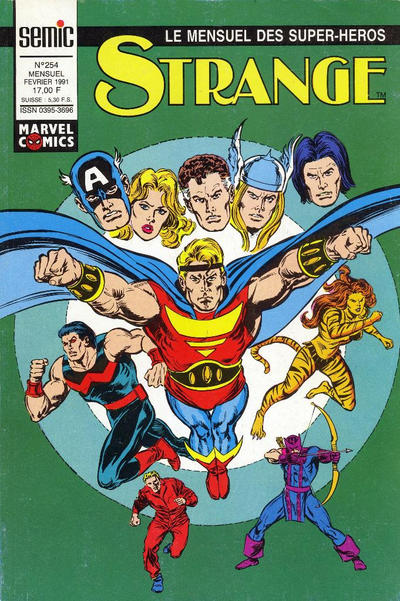 Cover for Strange (Semic S.A., 1989 series) #254