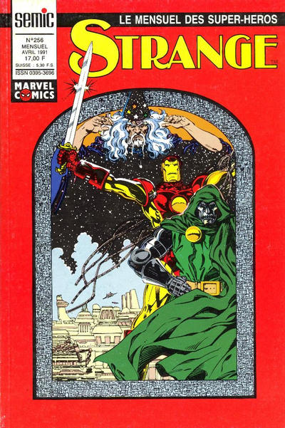Cover for Strange (Semic S.A., 1989 series) #256