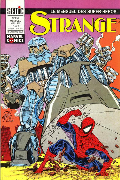 Cover for Strange (Semic S.A., 1989 series) #257