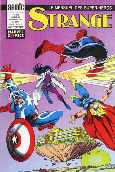 Cover for Strange (Semic S.A., 1989 series) #263