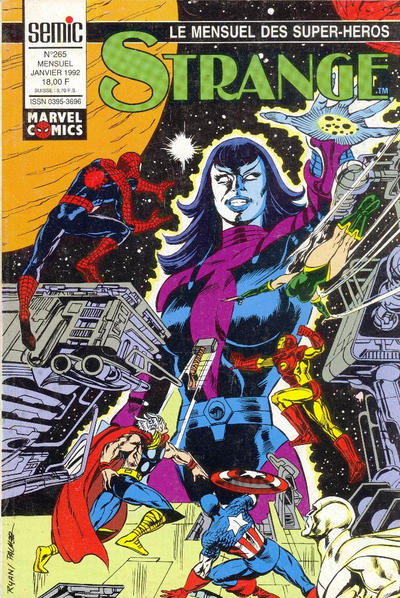 Cover for Strange (Semic S.A., 1989 series) #265