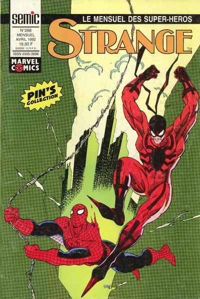 Cover for Strange (Semic S.A., 1989 series) #268