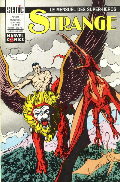 Cover for Strange (Semic S.A., 1989 series) #269