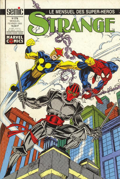 Cover for Strange (Semic S.A., 1989 series) #278