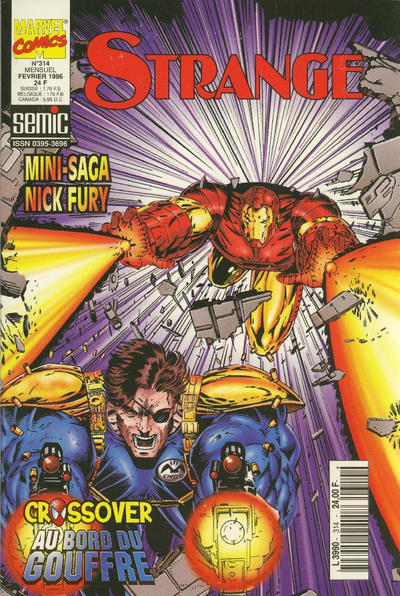 Cover for Strange (Semic S.A., 1989 series) #314