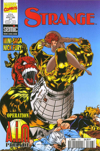Cover for Strange (Semic S.A., 1989 series) #316