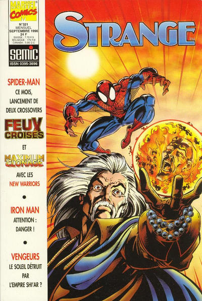 Cover for Strange (Semic S.A., 1989 series) #321
