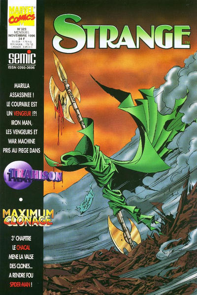 Cover for Strange (Semic S.A., 1989 series) #323