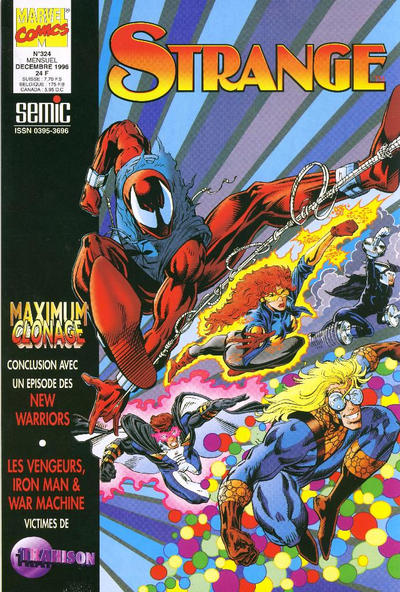 Cover for Strange (Semic S.A., 1989 series) #324