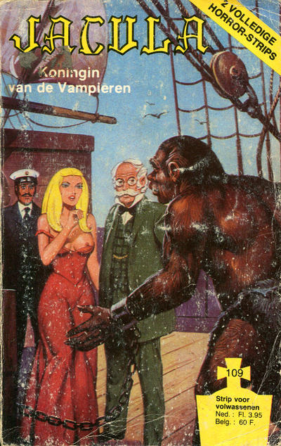 Cover for Jacula (De Schorpioen, 1978 series) #109