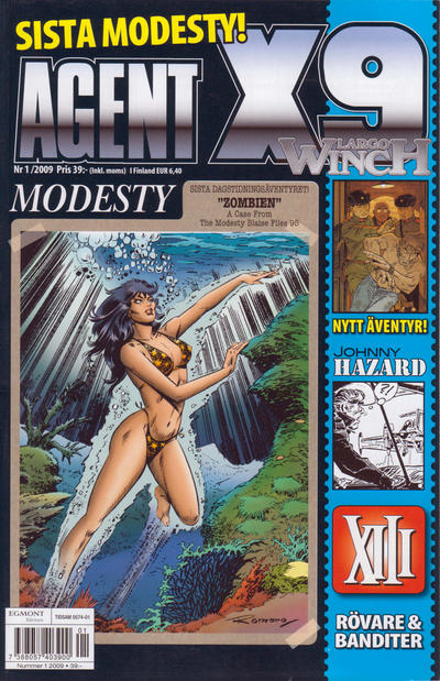 Cover for Agent X9 (Egmont, 1997 series) #1/2009