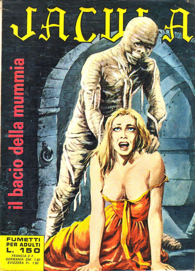 Cover for Jacula (Ediperiodici, 1969 series) #3