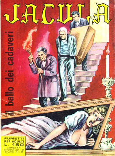 Cover for Jacula (Ediperiodici, 1969 series) #4