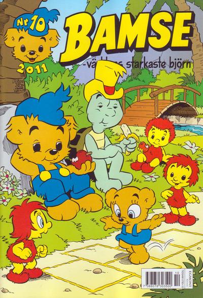 Cover for Bamse (Egmont, 1997 series) #10/2011