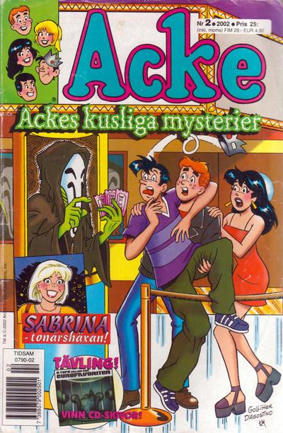 Cover for Acke (Egmont, 1997 series) #2/2002