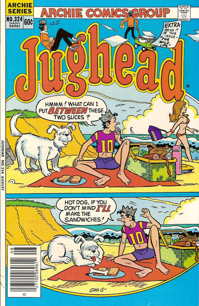 Cover for Jughead (Archie, 1965 series) #324