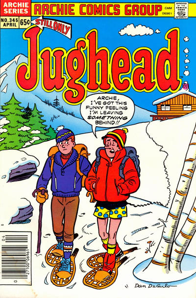 Cover for Jughead (Archie, 1965 series) #345