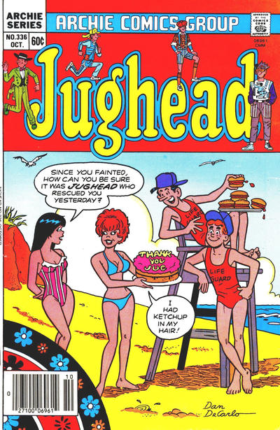Cover for Jughead (Archie, 1965 series) #336