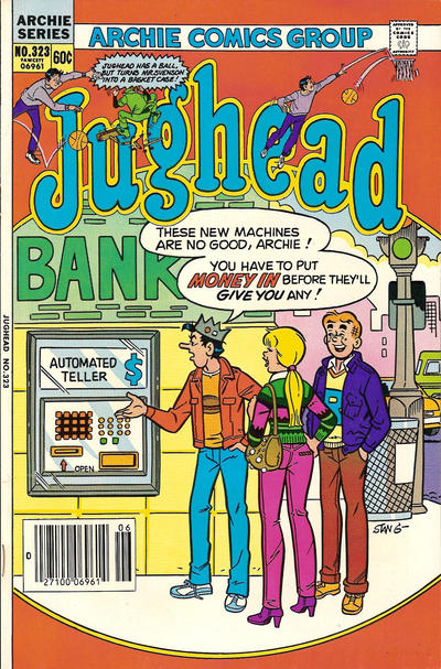 Cover for Jughead (Archie, 1965 series) #323