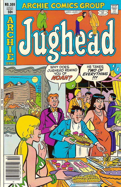 Cover for Jughead (Archie, 1965 series) #309