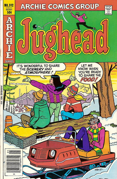 Cover for Jughead (Archie, 1965 series) #312