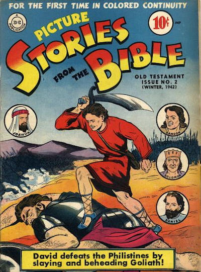 Cover for Picture Stories from the Bible Old Testament (DC, 1942 series) #2