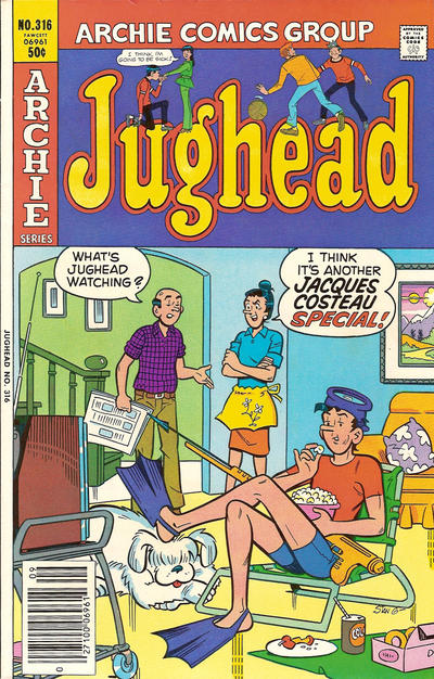 Cover for Jughead (Archie, 1965 series) #316