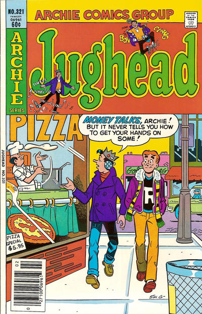 Cover for Jughead (Archie, 1965 series) #321