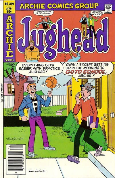 Cover for Jughead (Archie, 1965 series) #319