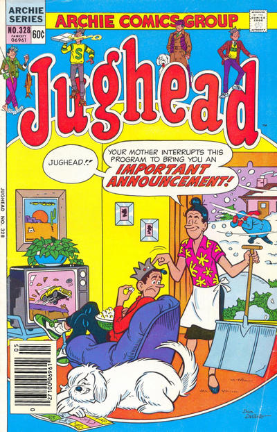 Cover for Jughead (Archie, 1965 series) #328 [Canadian]