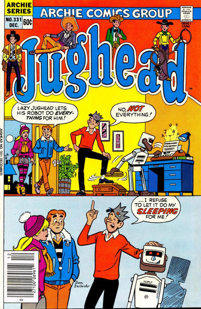 Cover for Jughead (Archie, 1965 series) #331 [Canadian]