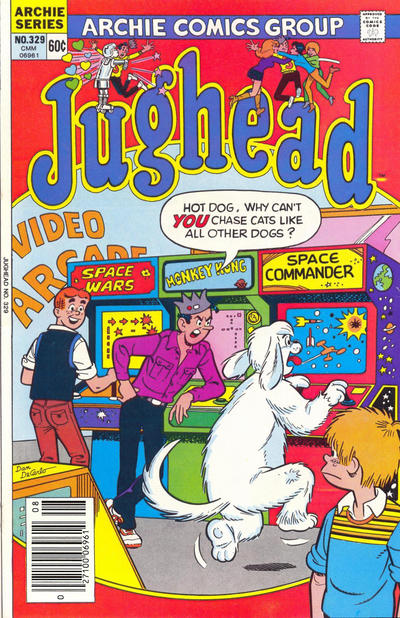 Cover for Jughead (Archie, 1965 series) #329