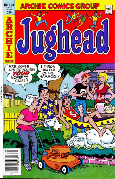Cover for Jughead (Archie, 1965 series) #303