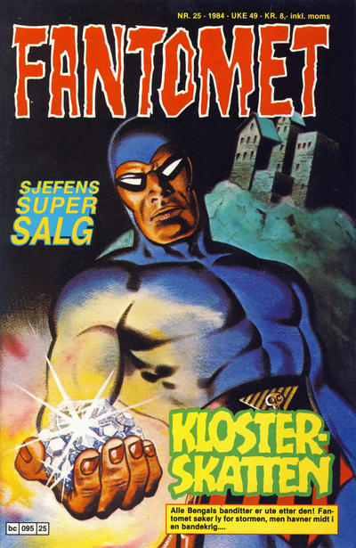 Cover for Fantomet (Semic, 1976 series) #25/1984