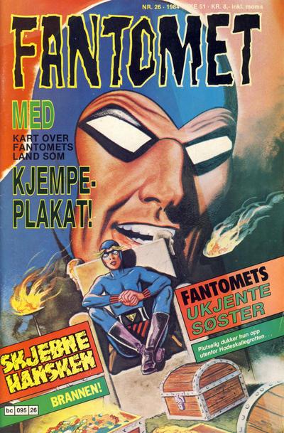 Cover for Fantomet (Semic, 1976 series) #26/1984