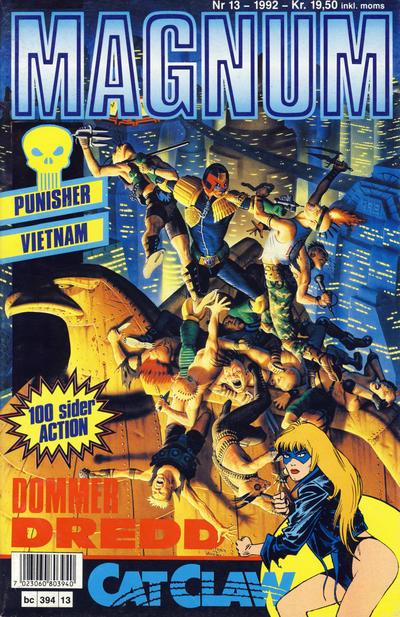 Cover for Magnum (Bladkompaniet / Schibsted, 1988 series) #13/1992