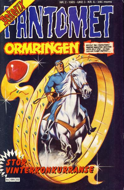 Cover for Fantomet (Semic, 1976 series) #2/1985