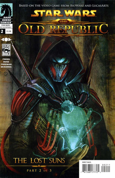 Cover for Star Wars: The Old Republic - The Lost Suns (Dark Horse, 2011 series) #2