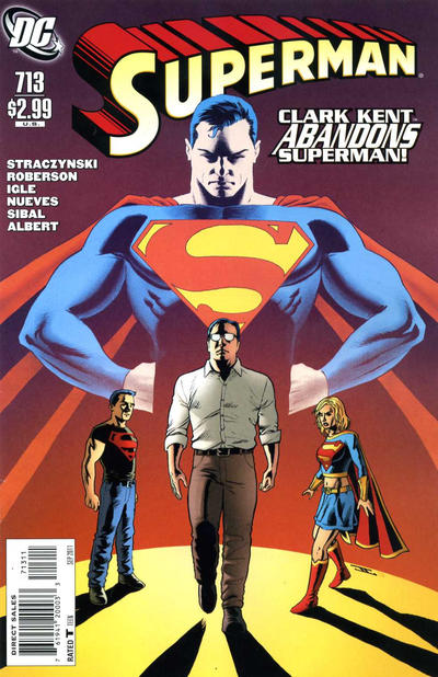 Cover for Superman (DC, 2006 series) #713 [Direct]