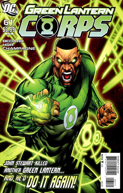 Cover for Green Lantern Corps (DC, 2006 series) #61