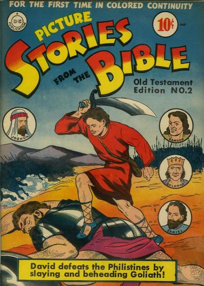 Cover for Picture Stories from the Bible Old Testament (DC, 1942 series) #2 [2nd]