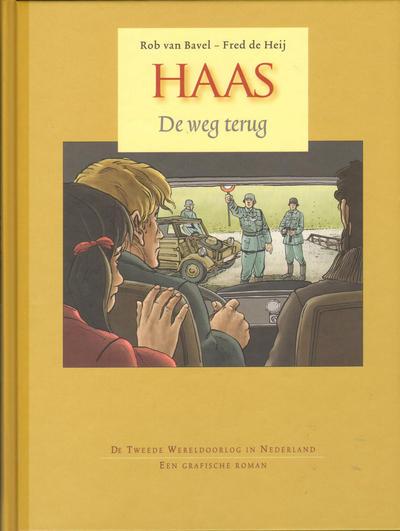 Cover for Haas (Don Lawrence Collection, 2010 series) #1 - De weg terug