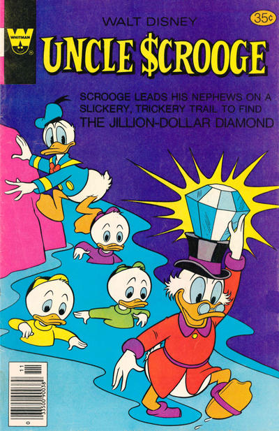 Cover for Uncle Scrooge (Western, 1963 series) #158 [Gold Key Variant]