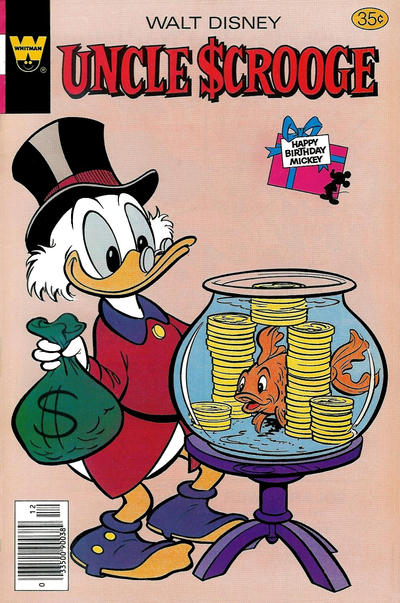 Cover for Uncle Scrooge (Western, 1963 series) #159 [Gold Key Variant]