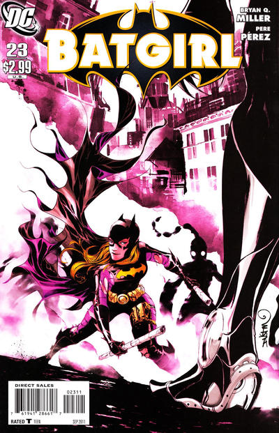 Cover for Batgirl (DC, 2009 series) #23