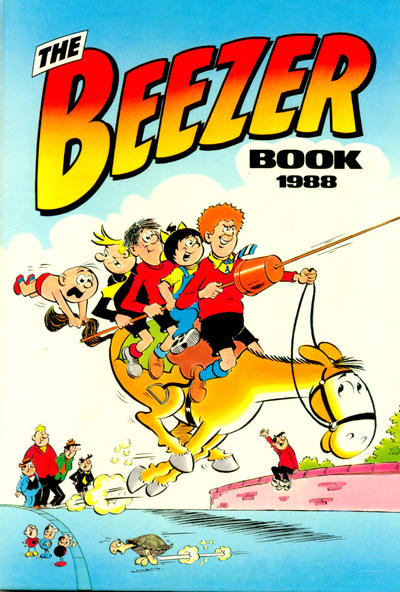 Cover for The Beezer Book (D.C. Thomson, 1958 series) #1988